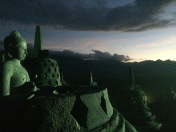 Borobudur Sunset