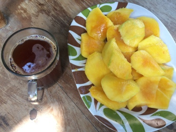 Black Coffee & Mango